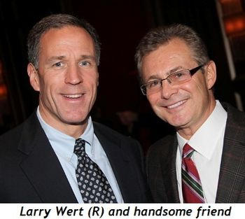 Blog 3 - Larry Wert (R) and handsome friend