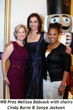 Blog 1 - WB Prez Melissa Babcock, Co-chairs Cindy Burns and Sonya Jackson