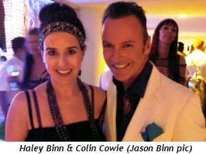 Blog 3 - Haley Binn and Colin Cowie (Jason Binn pic)