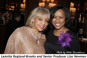 Blog 4 - LeAnita Ragland-Brooks and Sr. Producer Lisa Newman