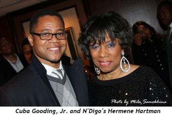 Blog 6 - Cuba Gooding, Jr. and N'Digo's Hermene Hartman
