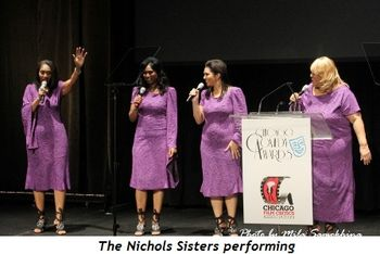 Blog 18 - The Nichols Sisters performing