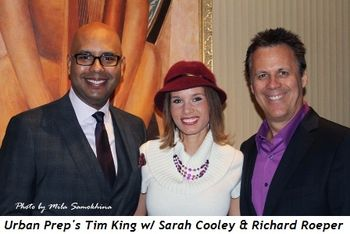 Blog 20 - Urban Prep's Tim King, Sarah Cooley and Richard Roeper