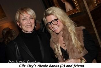 Blog 4 - Gilt City's Nicole Banks (R) and friend