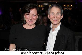 Blog 5 - Bonnie Schultz (R) and friend