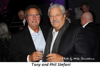 Blog 6 - Tony and Phil Stefani