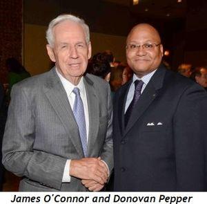 James O'Connor and Donovan Pepper