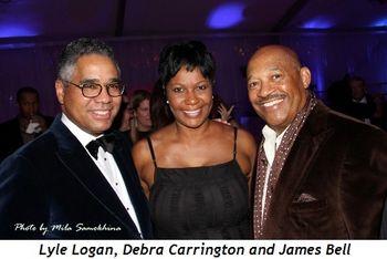 Blog 4 - Lyle Logan, Debra Carrington and James Bell