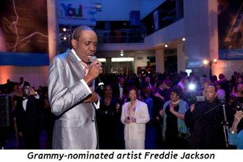 Blog 4 - Grammy-nominated artist, Freddie Jackson