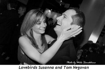 Blog 14 - Lovebirds Susanna and Tom Negovan