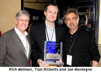 Blog 2 - Rich Melman, Tom Ricketts and Joe Mantegna