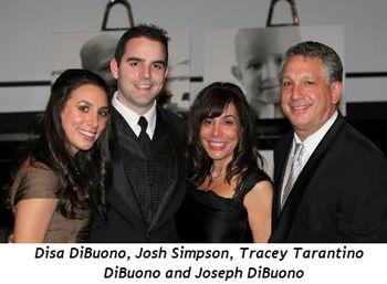 Blog 14 - Disa DiBuono, John Simpson, Tracey Tarantino DiBuono and Joseph DiBuono