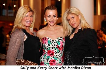 Sally and Kerry Shorr with Monika Dixon