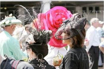 Hats at the Races--Corseti