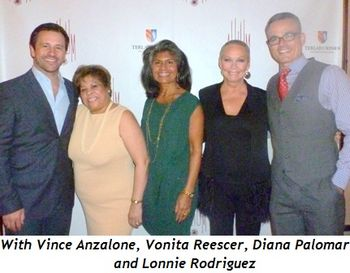 Blog 5 - With Vince Anzalone, Vonita Reescer, Diana Palomar and Lonnie Rodriguez