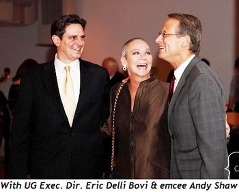 Blog 6 - With UG Executive Director Eric Delli Bovi and emcee Andy Shaw
