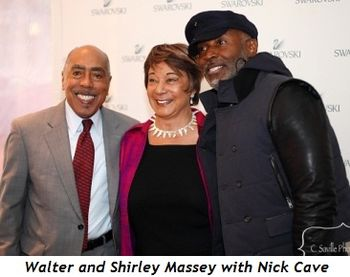 Blog 2 - Walter and Shirley Massey with Nick Cave