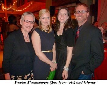 Blog 6 - Brooke Eisenmenger (2nd from left) and friends
