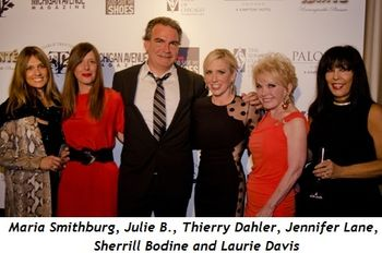 Blog 1 - Maria Smithburg, Julie B., Thierry Dahler, Jennifer Lane, Sherrill Bodine and Laurie Davis