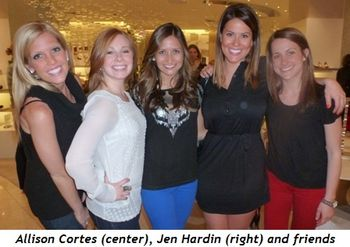 Blog 2 - Allison Cortes (middle), Jen Hardin (R) and friends