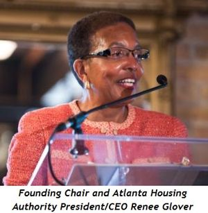 Blog 4 - Founding Chair and Atlanta Housing Authority President-CEO Renee Glover
