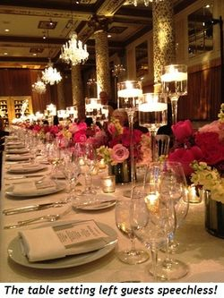 Blog 13 - The table setting made guests speechless!