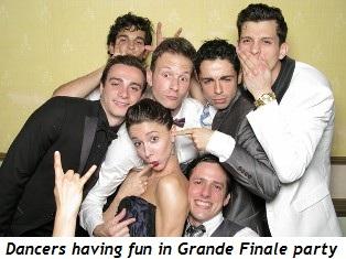 Blog 1 - Dancers having fun in Grande Finale party
