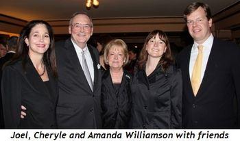 Blog 4 - Joel, Cheryle and Amanda Williamson with friends