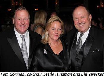 Blog 7 - Tom Gorman, co-chair Leslie Hindman and Bill Zwecker