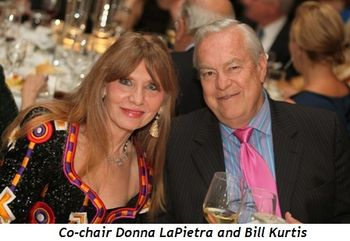 Blog 10 - Co-chair Donna LaPietra and Bill Kurtis