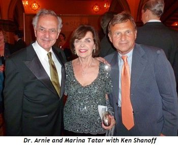 Blog 13 - Dr. Arnie and Marina Tatar with Ken Shanoff