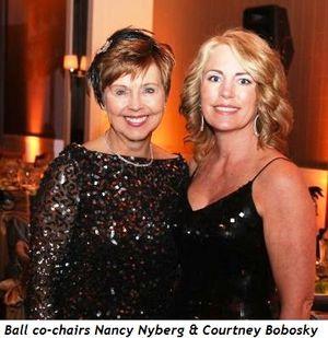 Blog 1 - Ball co-chairs Nancy Nyberg and Courtney Bobosky