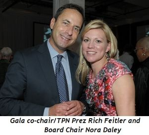Blog 2 - Gala co-chair-TPN Prez Rich Feitler and Board Chair Nora Daley