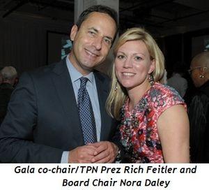 Blog 2 - Gala co-chair-TPN Prez Rich Feitler and Board Chair Nora Daley