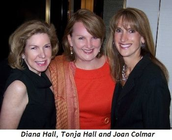 Blog 2 - Diana Hall (VP Harry Winston), Tonja Hall, Joan Colmar