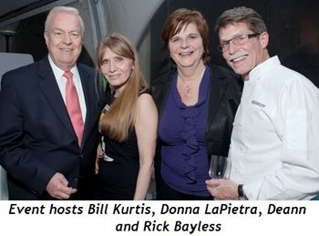 Blog 1 - Event Hosts Bill Kurtis, Donna LaPietra, Deann and Rick Bayless