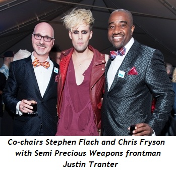 Blog 2 - Stephen Flach (co-chair), Justin Tranter, Chris Fryson (co-chair)
