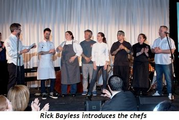 Blog 8 - Rick Bayless introduces the chefs