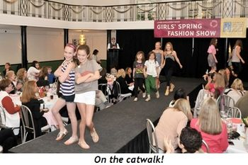 Blog 2 - On the catwalk!