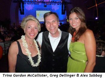 Blog 3 - Trina Gordon McCallister, auctioneer Greg Dellinger and Alex Sabbag