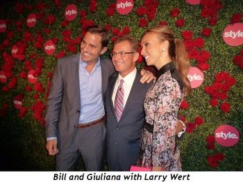 Blog 5 - Bill and Giuliana with Larry Wert