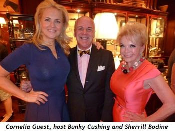 Blog 1 - Cornelia Guest, host Bunky Cushing and Sherrill Bodine