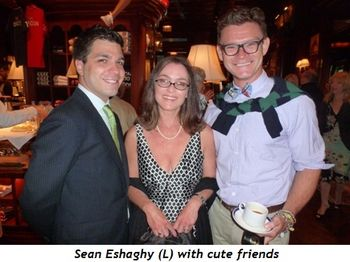 Blog 8 - Sean Eshaghy (left) and cute friends