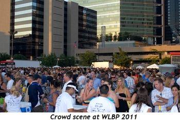 Blog 1 - Crowd scene at WLBP 2011
