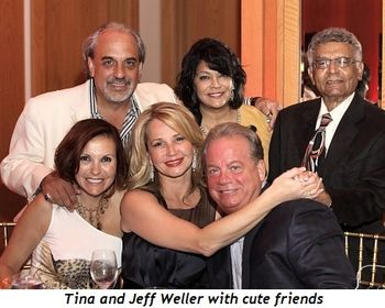 Blog 9 - Tina and Jeff Weller and cute friends