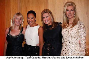 Blog 11 - Gayle Anthony, Toni Canada, Heather Farley and Lynn McMahan
