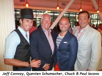 Blog 4 - Jeff Conway, Quenten Schumacher, Chuck and Paul Iacono