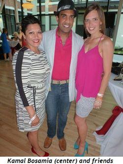 Blog 10 - Kamal Bosamia (center) and friends