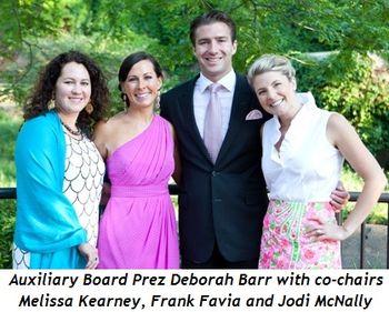 Blog 1 - Auxiliary Board President Deborah Barr_ Co-Chairs Melissa Kearney, Frank Favia and Jodi McNally