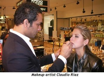 Blog 5 - Makeup artist Claudio Riaz